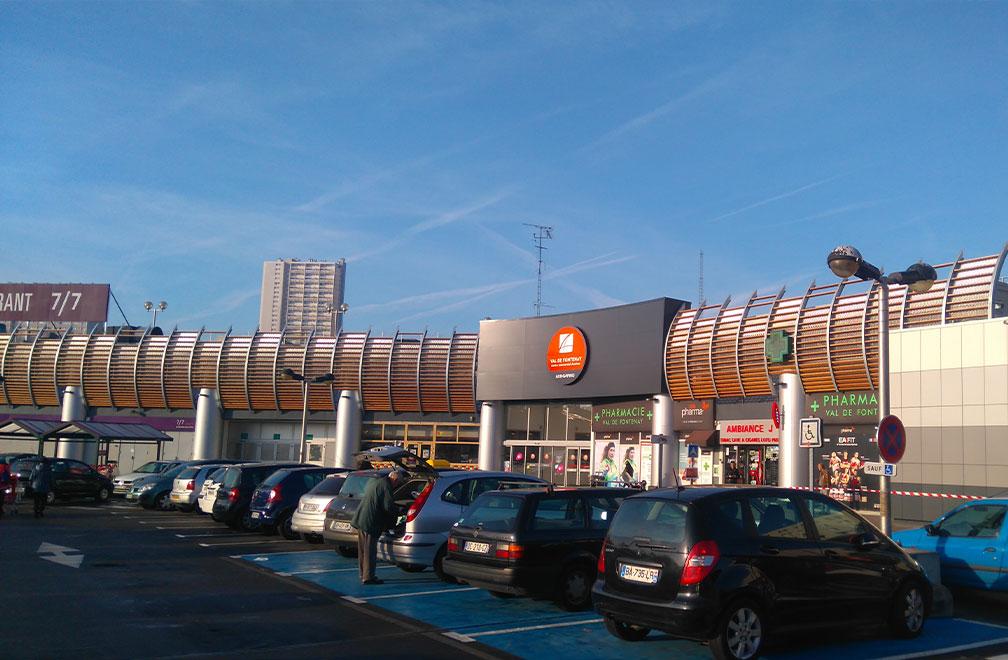 Centre Commercial Aushopping Val de Fontenay
