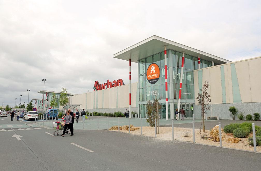Centre Commercial Aushopping Poitiers Sud
