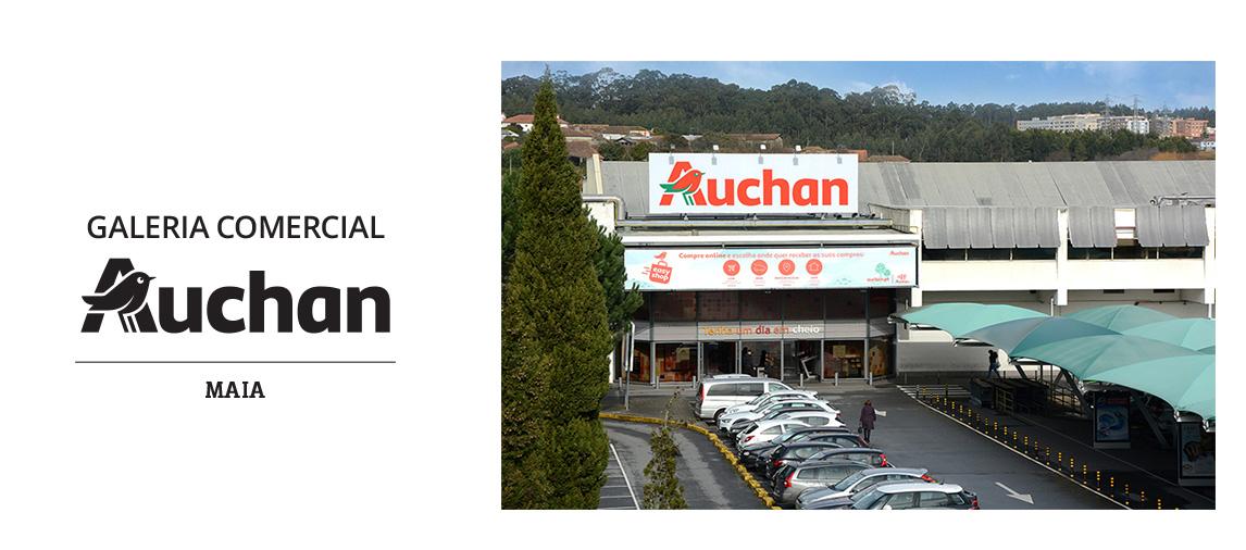 Galeria Comercial Auchan Maia