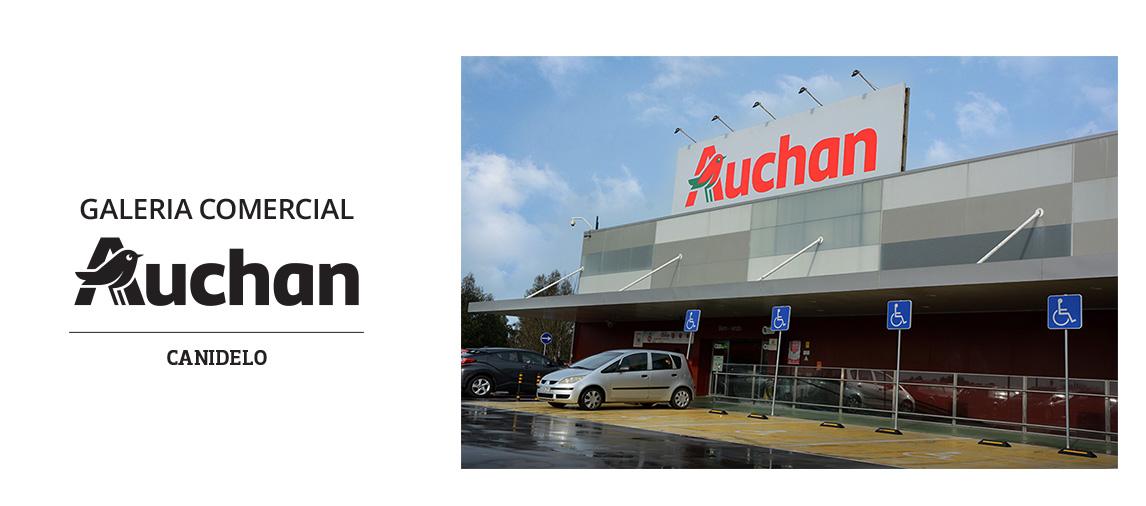 Galeria Comercial Auchan Canidelo